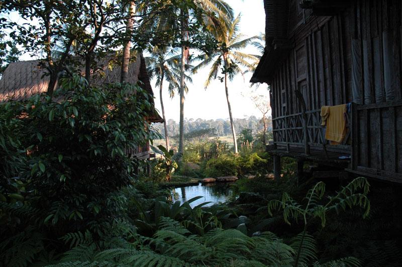 Bambu Indah, Udang House view