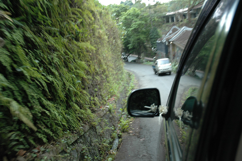 tight fit in Ubud, Bali