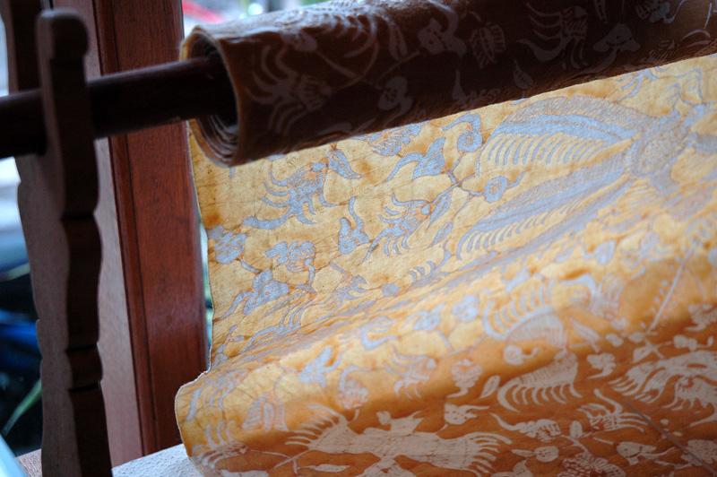 Batik Wax Pattern