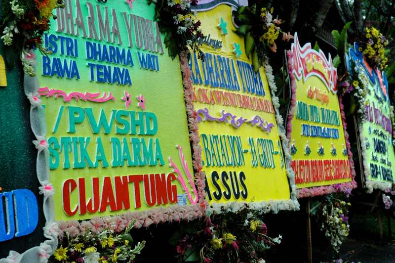 signs in Sanur Beach, Bali