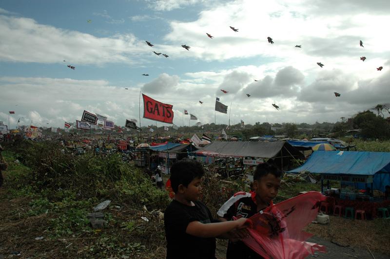 Bali Kite Festival, Padang Galak, July 2012