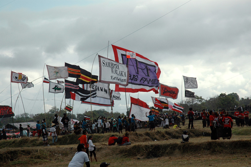 Bali Kite Festival Team Flags