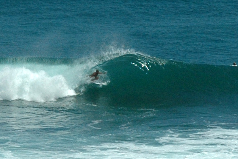 Surfer at Blue Point