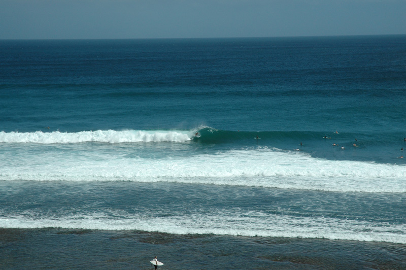 Surfing at Blue Point