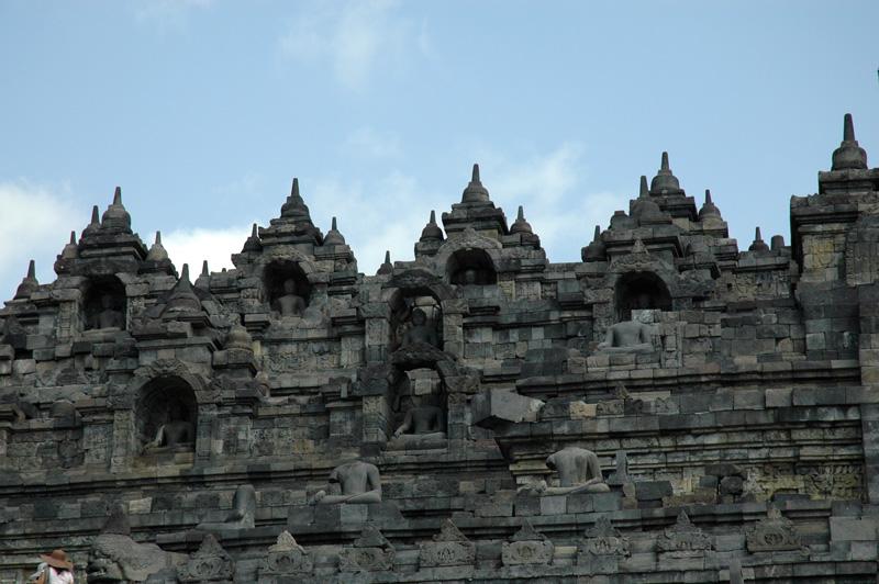 Burobudur Buddhas