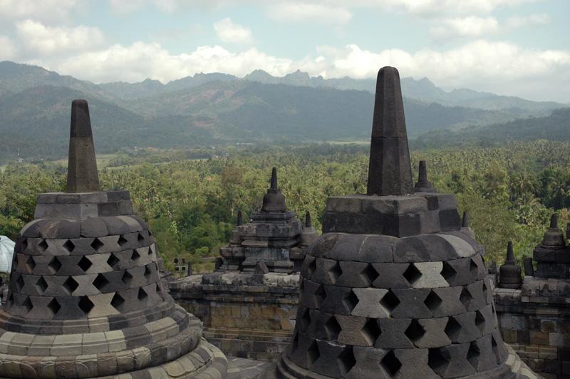 Burobudur Stupas