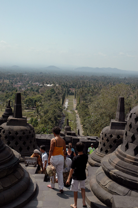 Borobudur from the top