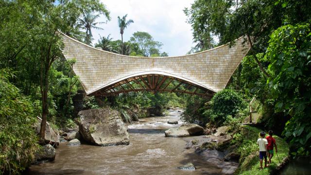 Green School Bridge